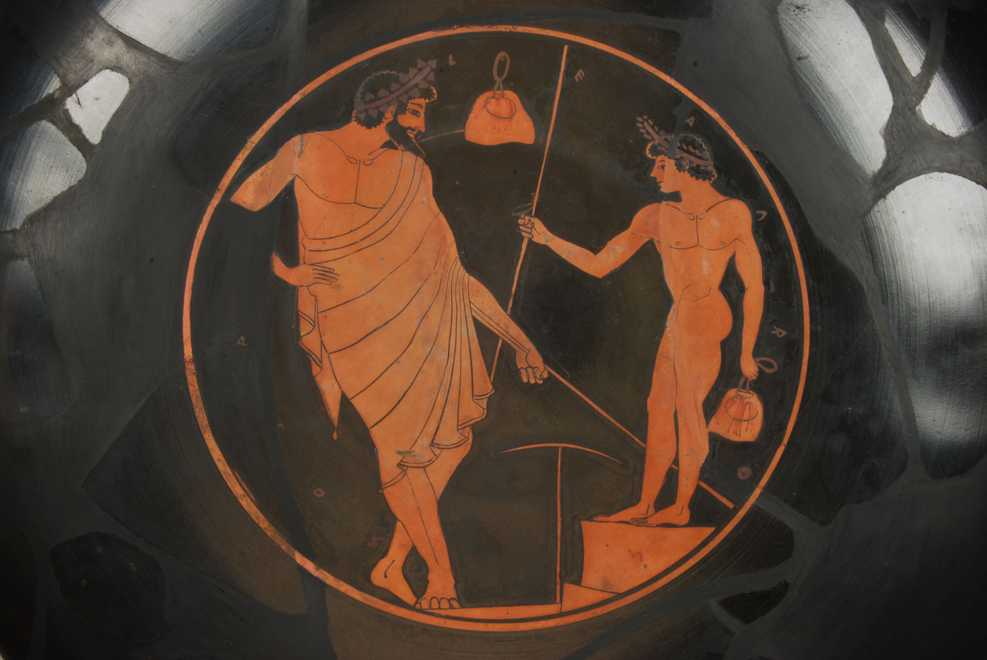 Kylix Attributed To The Kiss Painter Johns Hopkins Archaeological Museum