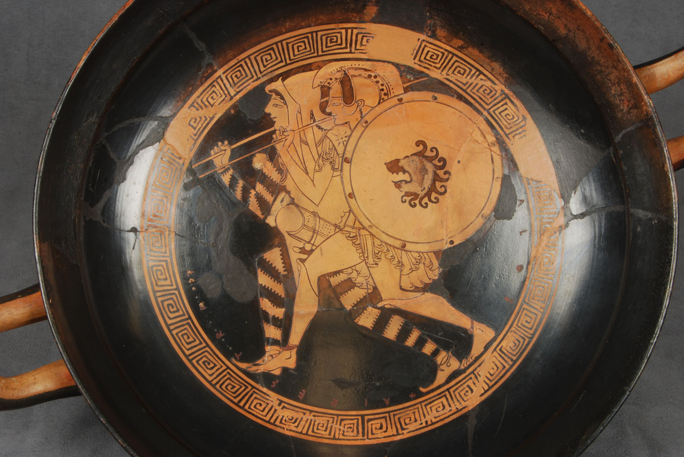 Kylix Attributed To Douris Johns Hopkins Archaeological