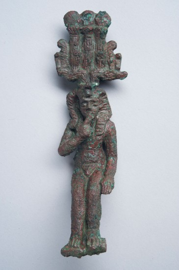 Bronze statuette of Horus the Child, ECM 173, Eton College Myers Collection