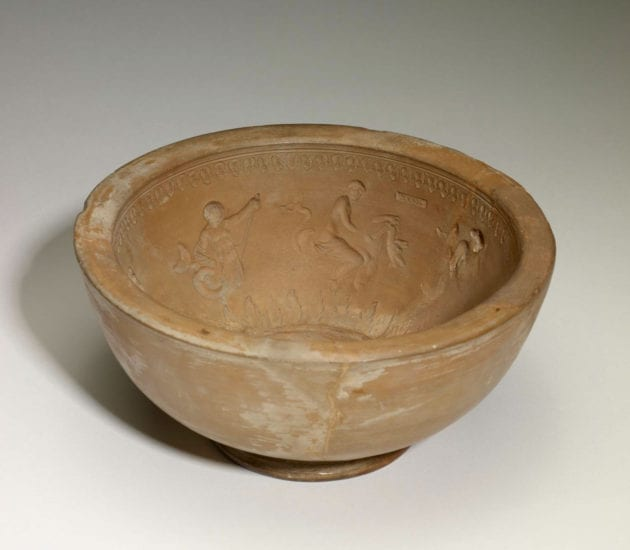 Example of a mold, The Walters Art Museum 48.2103. Image courtesy of the Walters Art Museum.
