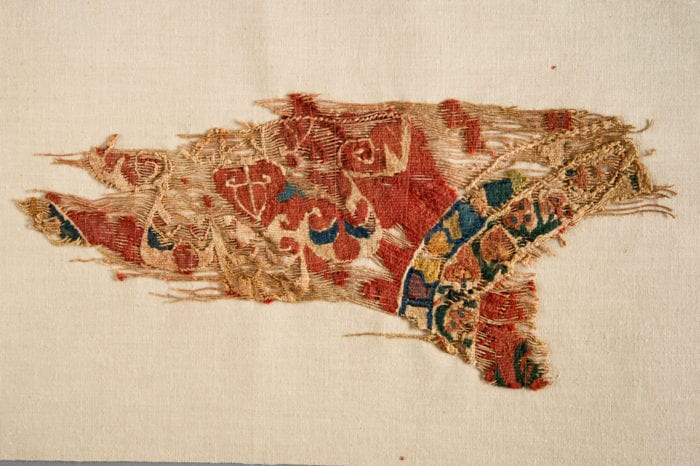Fragment of a tapestry hanging, ECM 6283.