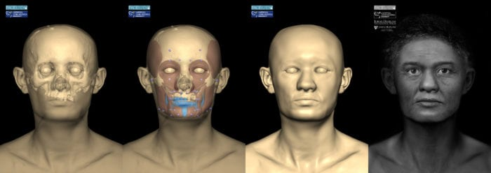 Reconstruction process for the Cohen Mummy