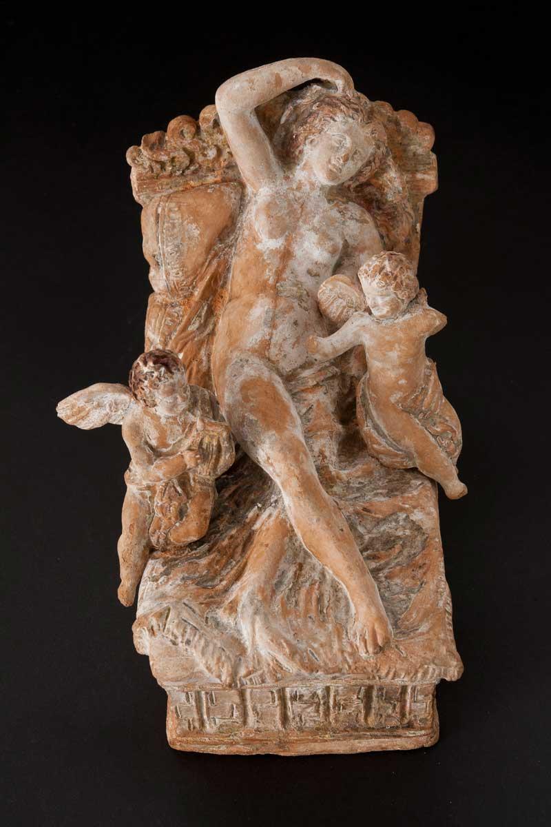 Female Figure with Putti
