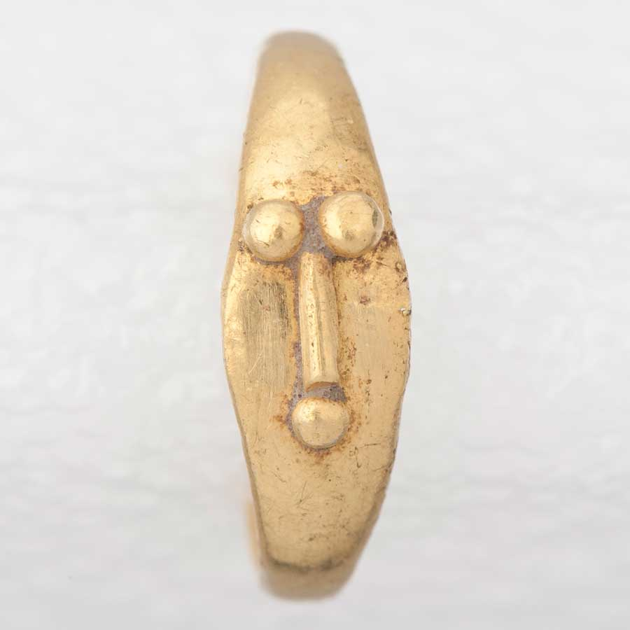 Child's Gold Ring with Phallus